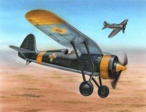Azur A115 PZL P.11c Foreign Service (1:72)