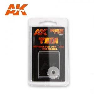 AK-Interactive AK 9137 ELASTIC RIGGING BOBBIN THIN 0,055 mm