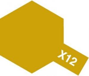 Tamiya X12 Gold Leaf (81512) Acrylic paint 10ml