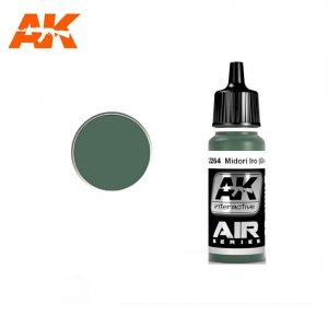 AK Interactive AK 2264 MIDORI IRO (GREEN) 17ml
