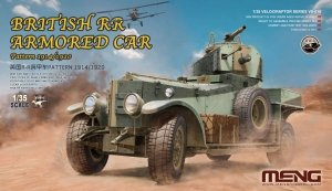 Meng Model VS-010 British RR Armored Car Pattern 1914/1920 (1:35)