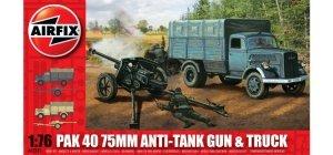 Airfix 02315 PaK 40 75mm Anti-Tank Gun Truck 1/76