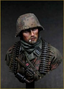 Young Miniatures YM1804 German Waffen SS Ardennes 1944 1/10