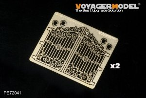 Voyager Model PE72041 European Iron Gates (pattern4)(GP) 1/72