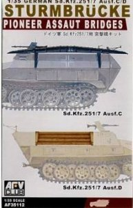 AFV Club 35112 Pioneer Assault Bridges for Sd.Kfz. 251 C or D 1/35