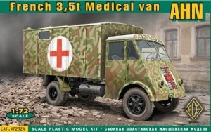 ACE 72524 French 3,5t truck AHN (medical van) (1:72)