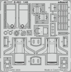 Eduard 491117 B-25D 1/48 REVELL