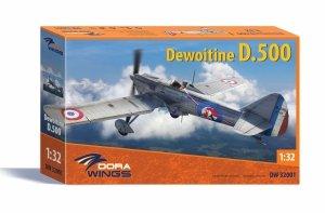 Dora Wings 32001 Dewoitine D.500 1/32