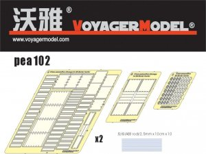 Voyager Model PEA102 81mm Ammunition Stowage for M4 Mortar Carrier (For DRAGON 6361) 1/35