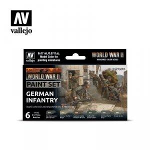 Vallejo 70206 WWII German Infantry 6x17ml