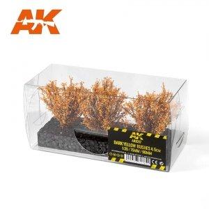AK Interactive AK 8217 DARK YELLOW BUSHES 4-6CM 1/35