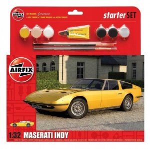 Airfix 55309 Maserati Indy Starter Set 1/32