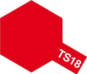 Tamiya TS18 Metallic Red (85018)