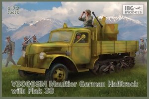 IBG 72075 V3000S/SS M Maultier with Flak 38 1/72