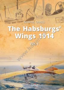 Kagero 91004 The Habsburgs' Wings 1914. Vol. 1 EN
