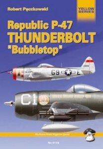 MMP Books 21276 Republic P-47 Thunderbolt Bubbletop EN