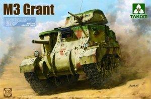 Takom 2086 British M3 Medium tank General Grant 1/35