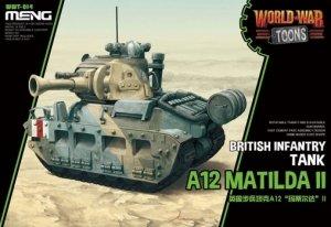 Meng Model WWT-017 World War Toons A12 Matilda II