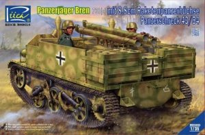 Riich Models RV35035 Panzerjäger Bren 731(e) mit 8.8cm Raketenpanzerbüchse Panzerschreck 43/54 1/35