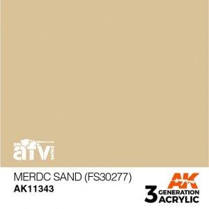 AK-Interactive AK 11343 MERDC Sand (FS30277) 17ml