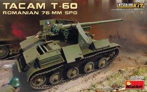 MiniArt 35240 ROMANIAN 76-mm SPG TACAM T-60 INTERIOR KIT 1/35