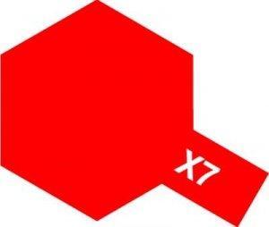 Tamiya X7 Red (81507) Acrylic paint 10ml