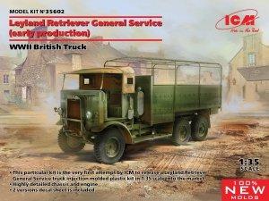 ICM 35602 WWII British Truck Leyland Retriever General Service 1/35