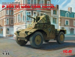 ICM 35377 Panzerspahwagen P 204 (f) with CDM turret, WWII German Armoured Vehicle 1/35