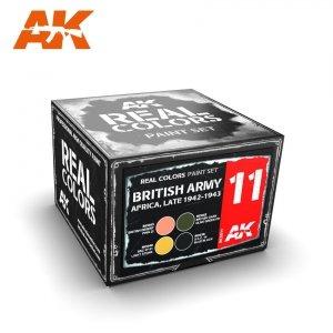 AK Interactive RCS011 BRITISH ARMY AFRICA, LATE 1942-1943 SET (4x10ml)