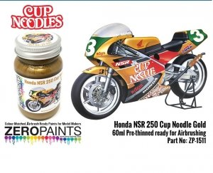 Zero Paints ZP-1511 Honda NSR 250 Cup Noodle Gold Paint 60ml
