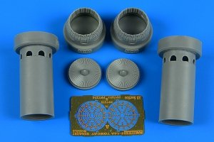 Aires 7373 F-14A Tomcat exhaust nozzles - opened position 1/72 ACADEMY