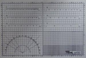 Meng Model MTS-021 Hobby Cutting Mat A3