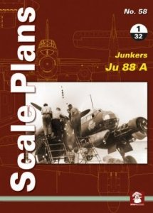 Stratus 58150 Scale Plans No. 58: Junkers 88 A 1/32