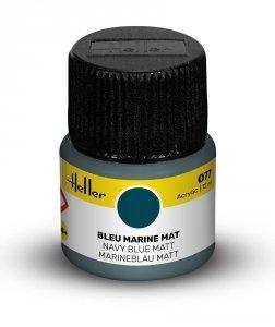 Heller 9077 077 Navy Blue - Matt 12ml