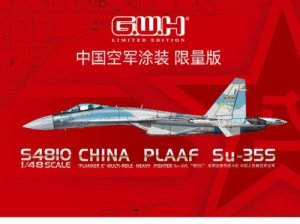 Great Wall Hobby S4810 China PLAAF Su-35S Flanker E 1/48