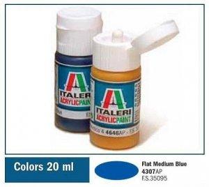 Italeri 4307 FLAT MEDIUM BLUE 20ml