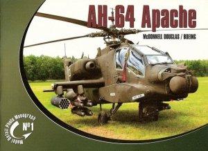 Rossagraph Model Detail Photo Monograph No. 01 - AH-64 Apache McDonnell Douglas / Boeing