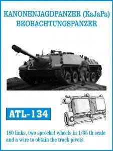 Friulmodel 1:35 ATL-134 KANONENJAGDPANZER (KaJaPa) /Jaguar1-2/ BEOBACHTUNGSPANZER