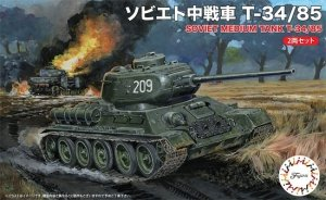 Fujimi 762425 Soviet Medium Tank T-34/85 1/76