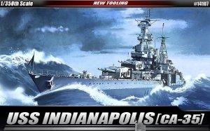 Academy 14107 USS INDIANAPOLIS (1:350)