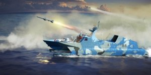 Trumpeter 00108 PLA Navy Type 22 Missile Boat 1/144