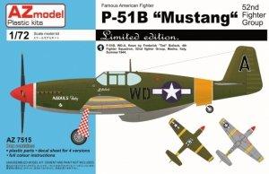 AZmodel AZ7515 P-51B Mustang 52nd FG 1/72