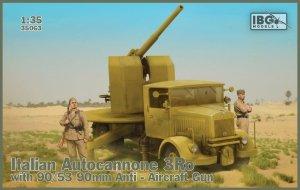 IBG 35063 Italian Autocannone 3Ro with 90/53 90mm Anti-Aircraft Gun 1/35