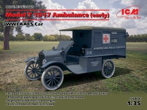 ICM 35665 Model T 1917 Ambulance (early), WWI AAFS Car (1:35)