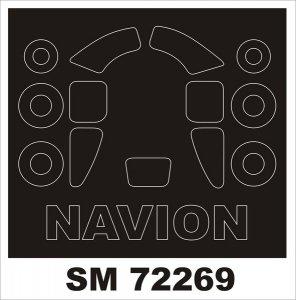 Montex SM72269 L-17A NAVION VALOM 1/72
