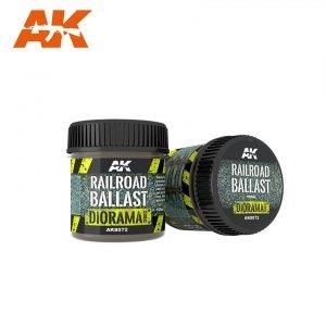 AK Interactive AK 8072 RAILROAD BALLAST / Podsypka kolejowa