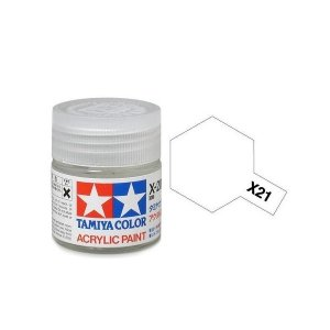 Tamiya 81021 Acryl X-21 Flat Base 23ml