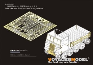 Voyager Model PE351072 WWII German RSO/03 type 470 upgrade set for Dragon 1/35