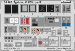 Eduard 36462 Typhoon K ZVEZDA 1/35