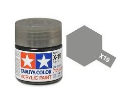 Tamiya 81019 Acryl X-19 Smoke 23ml
